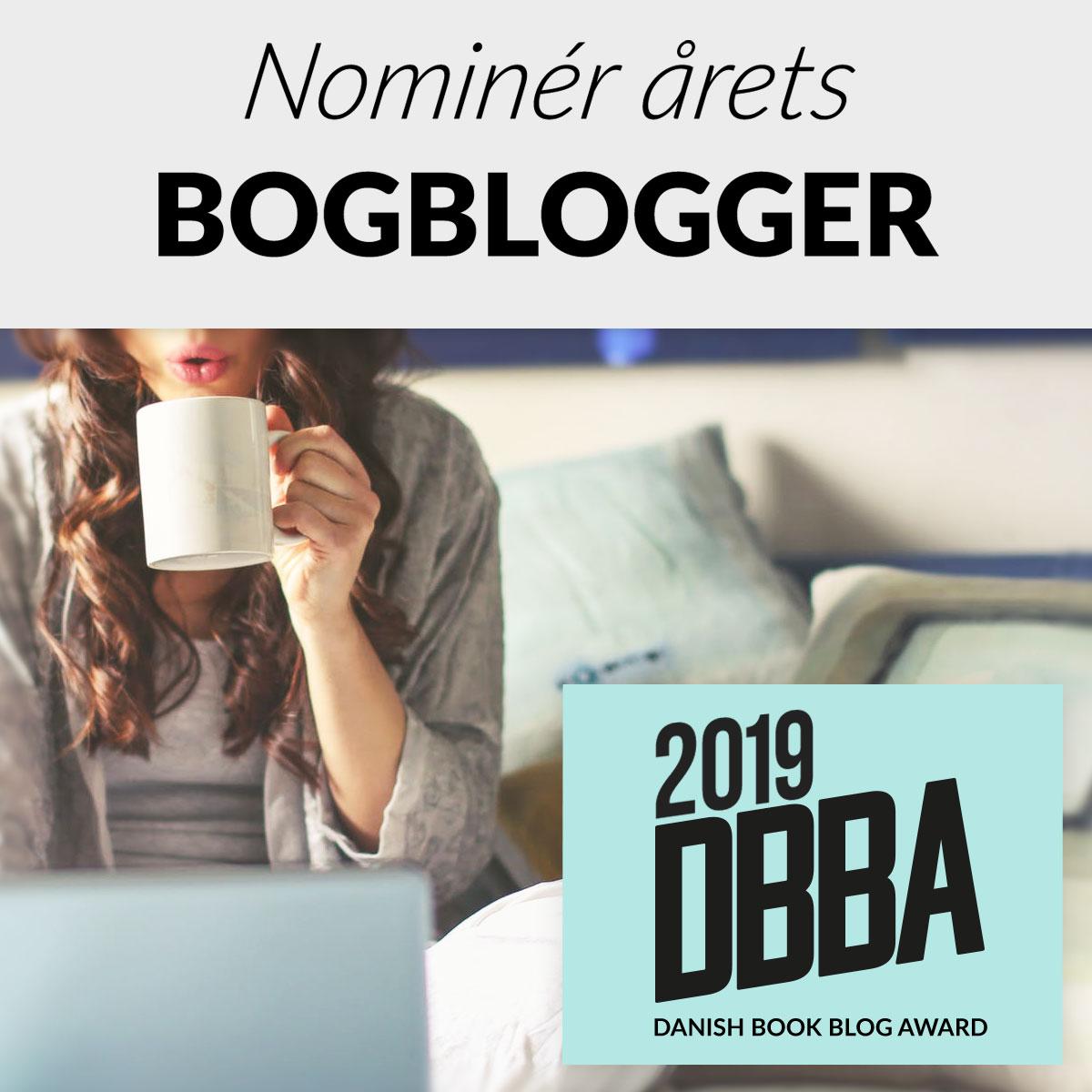 Kom med dit på hvilken bogblog der skal vinde Danish book blog award 2019