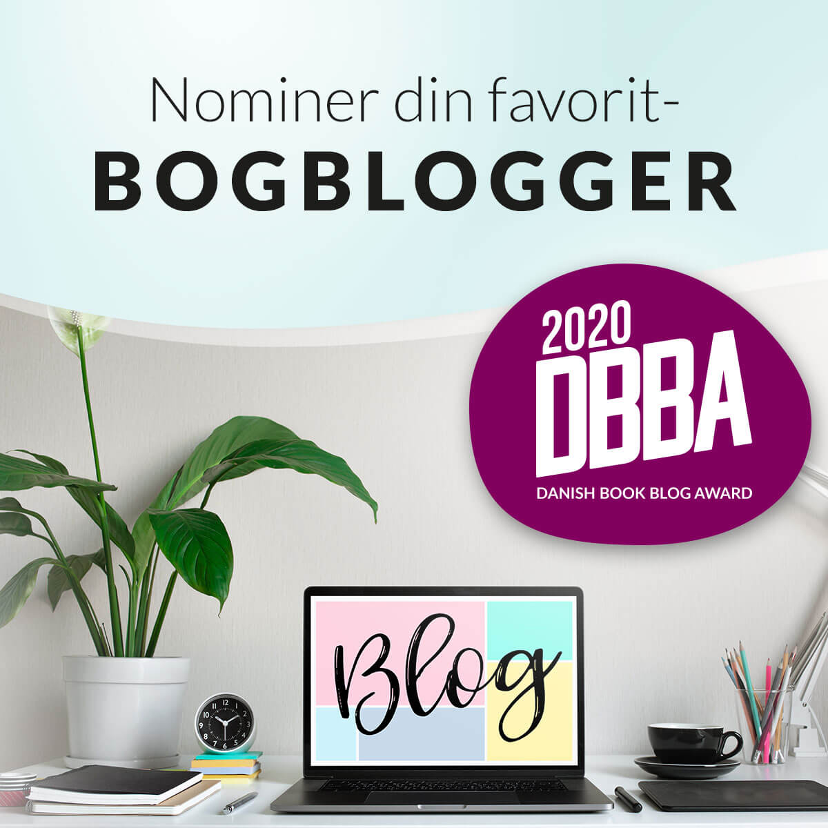 Hvem skal have titlen som danmarks bedste bogblog 2020?