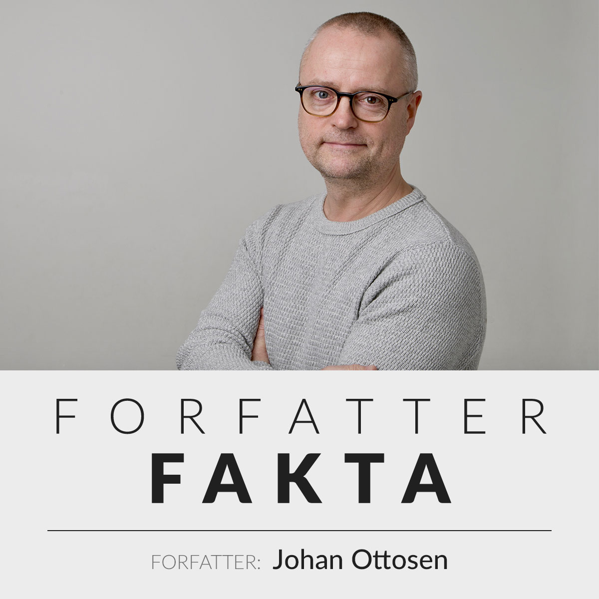 Forfatter Johan Ottosen