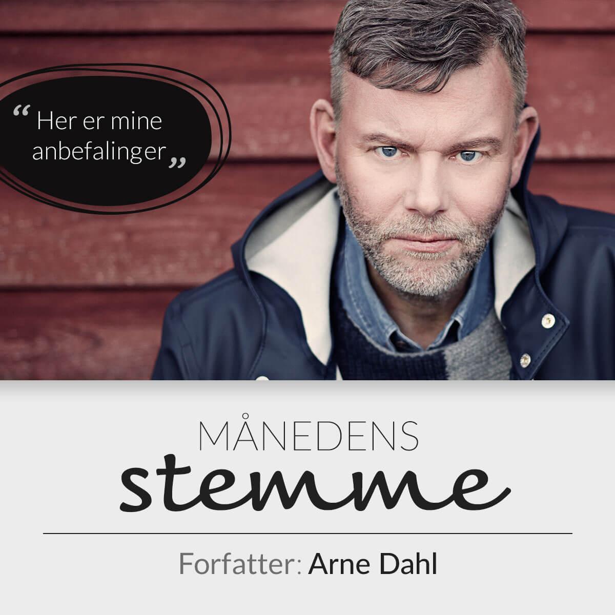 Forfatter Arne Dahl anbefaler