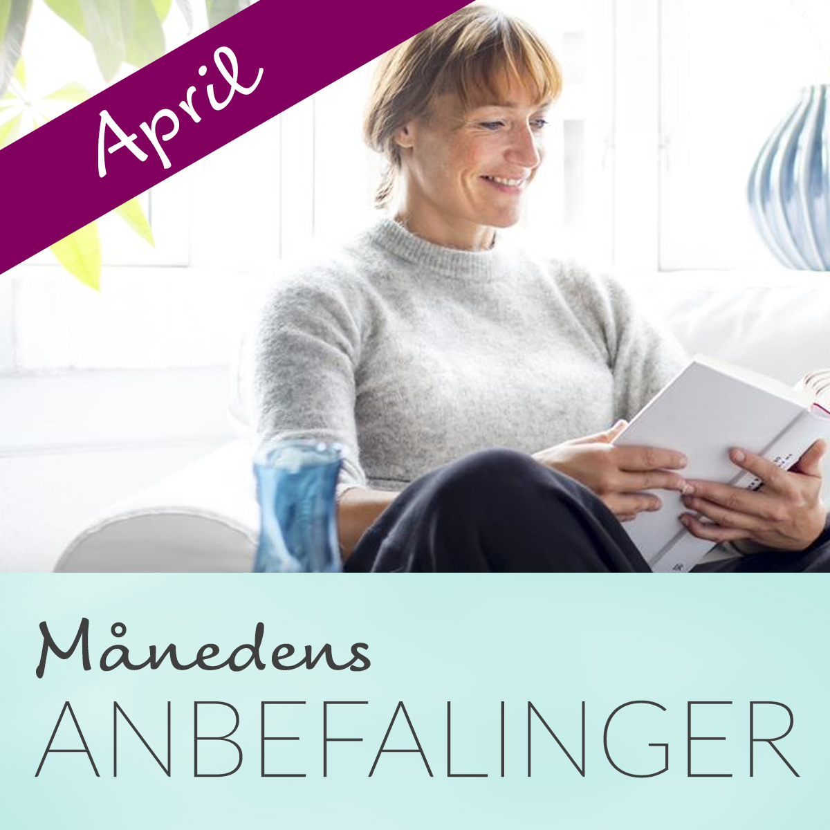 Anbefalede bøger i April