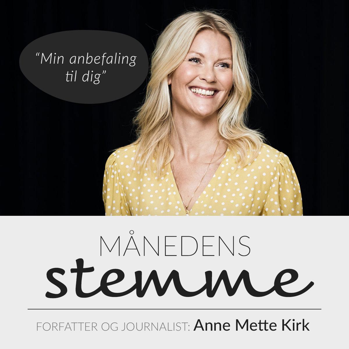 Anbefaling fra Anne Mette Kirk