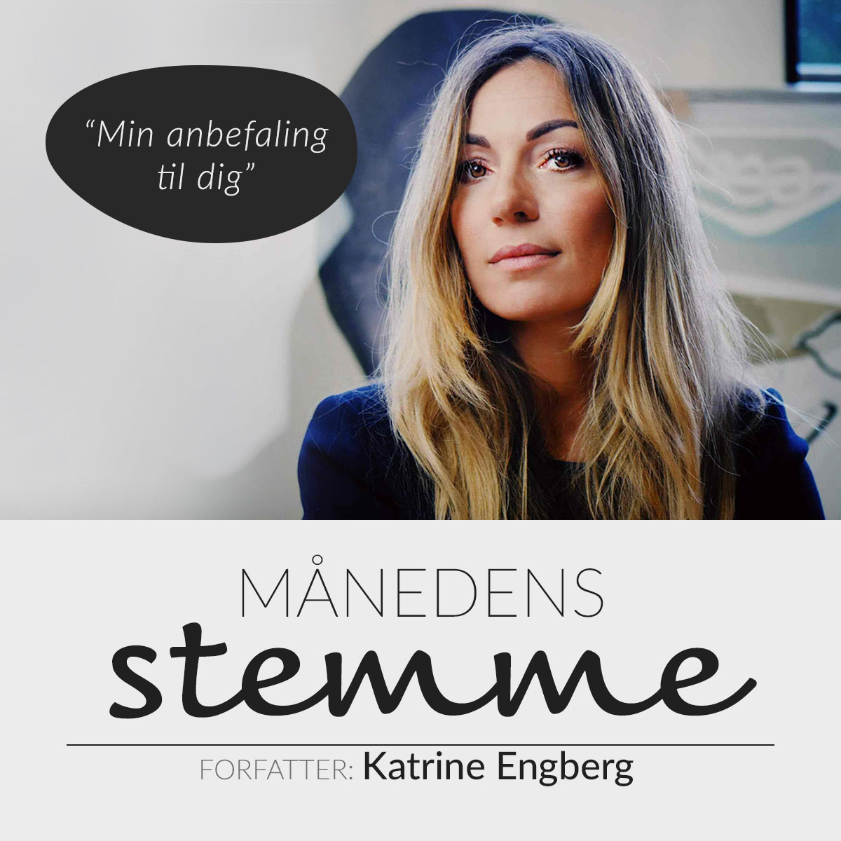 Månedens stemme Katrine Engberg