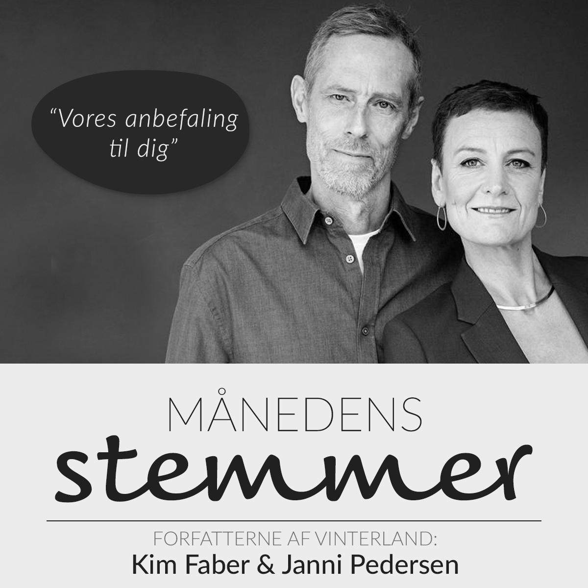 Kim Faber & Janni Pedersen anbefaler