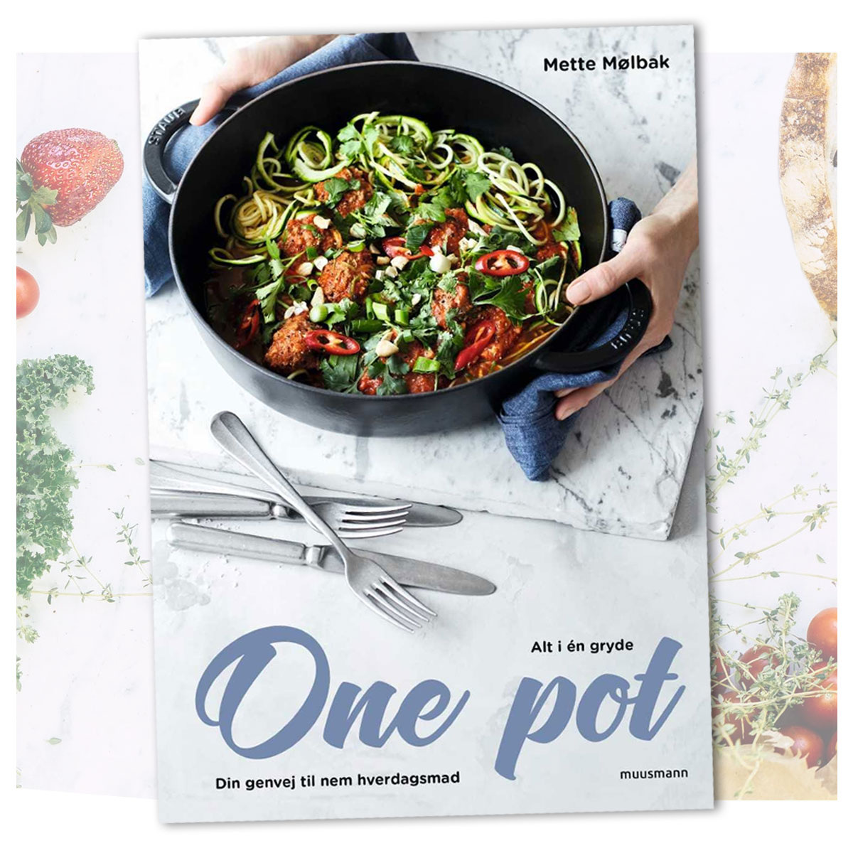Rask Opskrift fra bogen One Pot - Alt i én gryde - Din genvej til nem WV-01