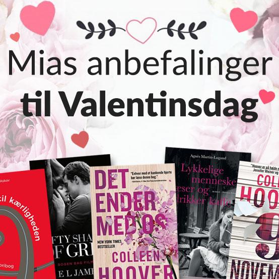 Bøger til Valentinsgave