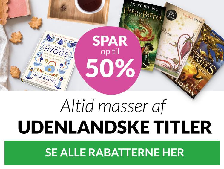 internationale bøger til lave priser