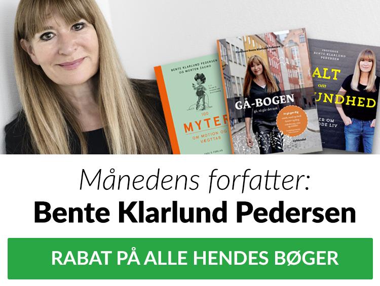 Bente Klarlund RABAT TILBUD månedens forfatter