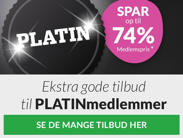 Platintilbud til Platinmedlemmer