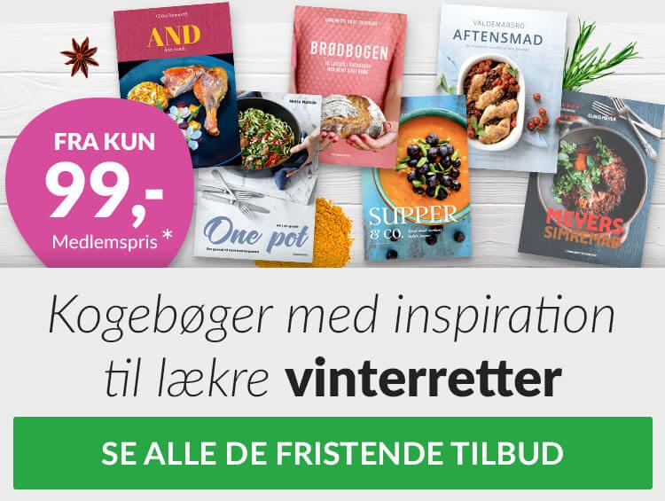 Billige kogebøger hos plusbog.dk