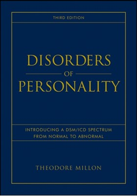 Disorders of Personality Theodore Millon 9780470040935