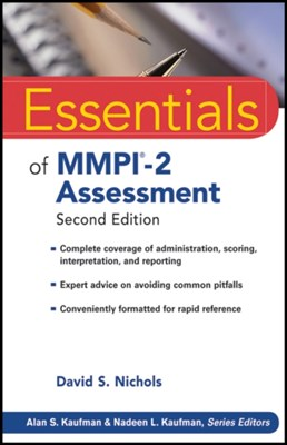 Essentials of MMPI-2 Assessment David S. Nichols 9780470923238