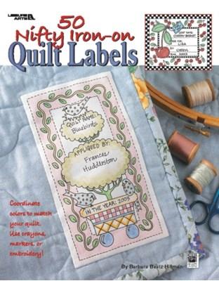 50 Nifty Iron-on Quilt Labels Kooler Design Studio 9781601407368