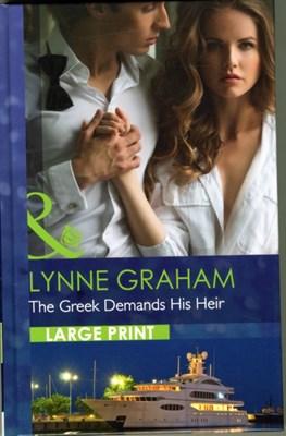The Greek Demands His Heir Lynne Graham 9780263257038