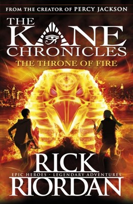 The Throne of Fire (The Kane Chronicles Book 2) Rick Riordan 9780141335674