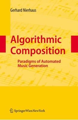 Algorithmic Composition Gerhard Nierhaus 9783211755396
