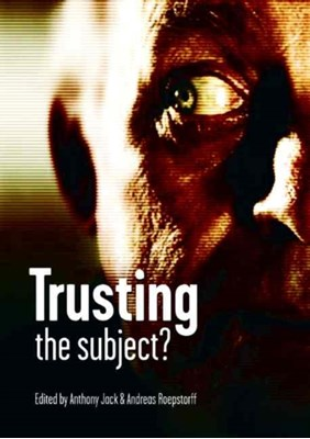 Trusting the Subject?  9780907845560