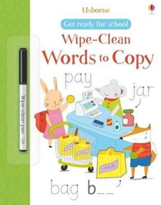 Get Ready for School Wipe-Clean Words to Copy Hannah Watson 9781474919036