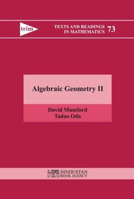 Algebraic Geometry II David Mumford, Oda Tadao 9789380250809