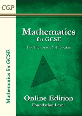Maths for GCSE Textbook: Foundation (for the Grade 9-1 Course) CGP Books 9781782944386