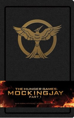 Hunger Games: Mockingjay Part 1 Hardcover Ruled Journal Insight Editions 9781608874972
