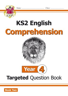New KS2 English Targeted Question Book: Year 4 Reading Comprehension - Book 2 (with Answers) CGP Books 9781782946717