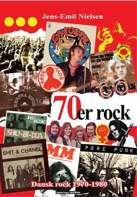 70´er rock Jens-Emil Nielsen 9788790184933