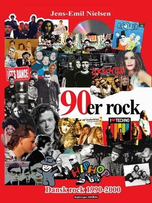 90´er rock Jens-Emil Nielsen 9788793093713