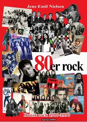 80´er rock Jens-Emil Nielsen 9788793093850