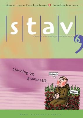 STAV 6 - Elevens bog, 5. udgave Inger-Lise Jørgensen, Poul Erik Jensen, Margot Jensen 9788771585339