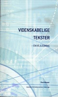 Videnskabelige tekster Poul Nissen 9788777064999