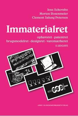 Immaterialret Jens Schovsbo, Clement Salung Petersen, Morten Rosenmeier 9788757439120
