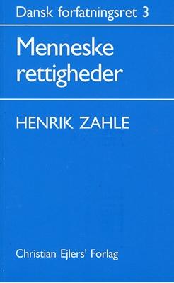 Dansk Forfatningsret 3 Henrik Zahle 9788772410791