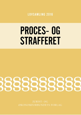 Lovsamling 2016 - Proces- og Strafferet Jens Møller 9788757435719