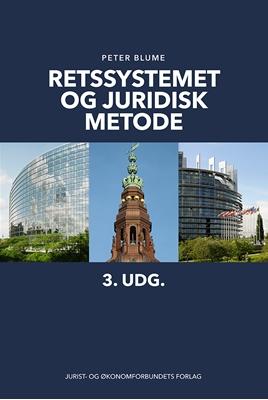 Retssystemet og juridisk metode Peter Blume 9788757435030