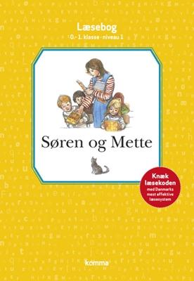 Søren og Mette læsebog 0.-1. kl. Niv. 1 Ejvind Jensen, Knud Hermansen 9788711349977