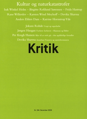 Kritik, 42. årgang, nr. 194 Frederik Stjernfelt, Lasse Horne Kjældgaard 9788702079692