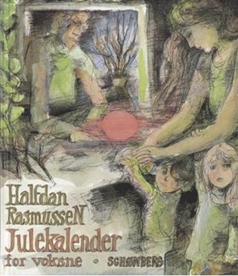 Julekalender for voksne Halfdan Rasmussen 9788757009644