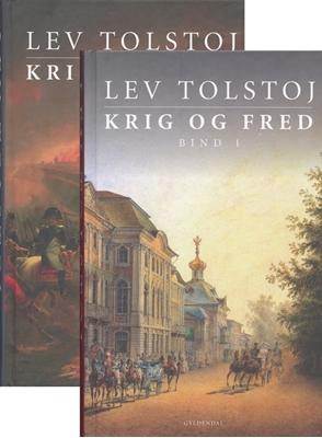 Krig og fred 1+2 Lev Tolstoj 9788702049671