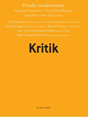 Kritik, 43. årgang, nr. 196 Frederik Stjernfelt, Lasse Horne Kjældgaard 9788702092035