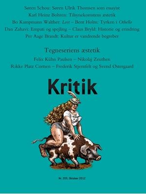 Kritik, 45. årgang, nr. 205 Frederik Stjernfelt, Lasse Horne Kjældgaard 9788702128055