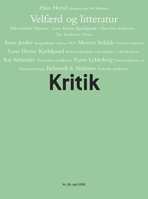 Kritik, 42. årgang, nr. 191 Frederik Stjernfelt, Lasse Horne Kjældgaard 9788702079661