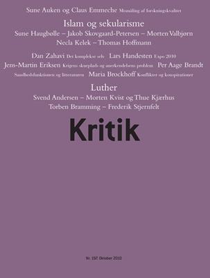 Kritik, 43. årgang, nr. 197 Frederik Stjernfelt, Lasse Horne Kjældgaard 9788702092042