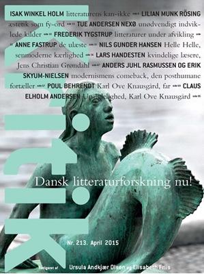 Kritik, 48. årgang, nr. 213 Elisabeth Friis, Ursula Andkjær Olsen 9788702175134