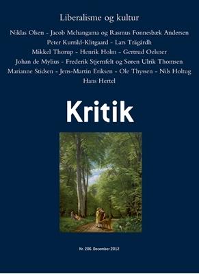 Kritik, 45. årgang, nr. 206 Lasse Horne Kjældgaard, Frederik Stjernfelt 9788702128062