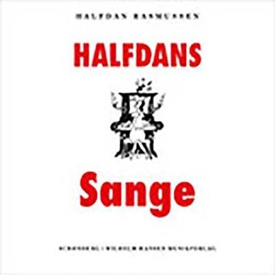 Halfdans sange Halfdan Rasmussen 9788757017991
