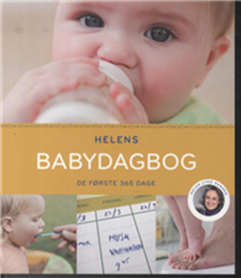 Helens babydagbog Helen Lyng Hansen 9788712047681