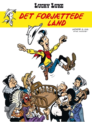 Lucky Luke: Det forjættede land Jul 9788770856614
