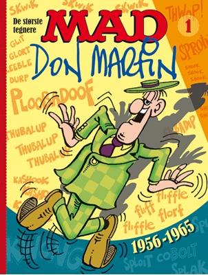 MAD – de største tegnere 1 Don Martin 9788770856621