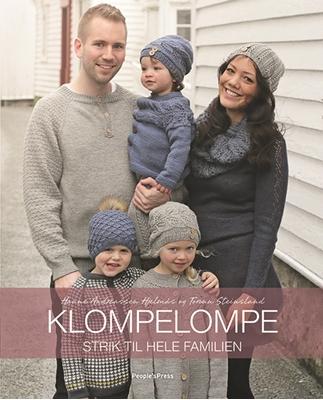 Klompelompe - Strik til hele familien Hanne Andreassen Hjelmås, Torunn Steinsland 9788771808711